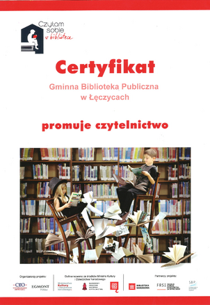 Certyfikat -_Biblioteka_Leczyce