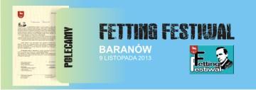 Baner Fetting Festiwal