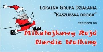 LGD mikolajkowy nordic walking