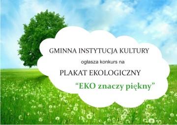 Plakat Eko