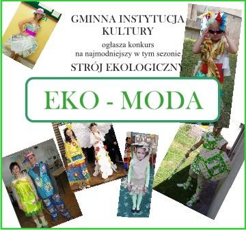 Plakat Eko moda