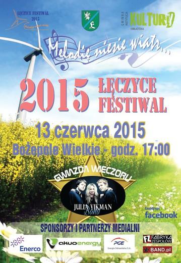 plakat festiwal leczyce 2015