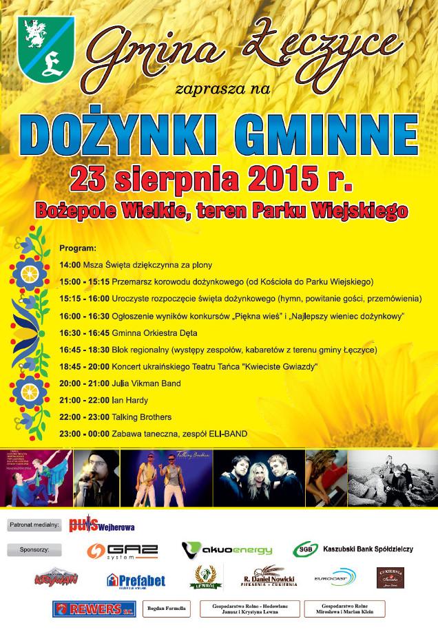 program dozynki 2015