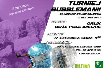 turniej bubblemania
